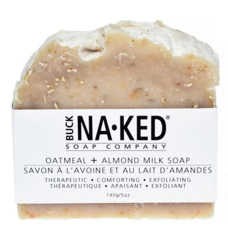OATMEAL & ALMOND MILK SOAP