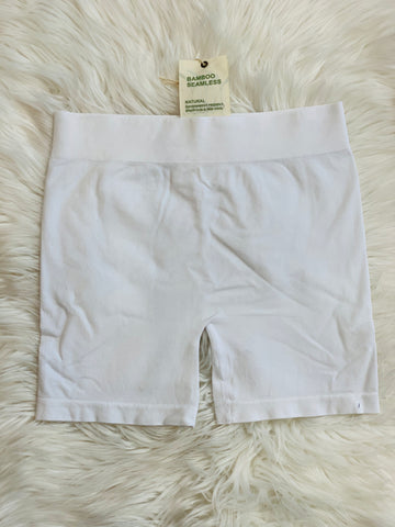 SHORTS BAMBOO WHITE (4504342069309)
