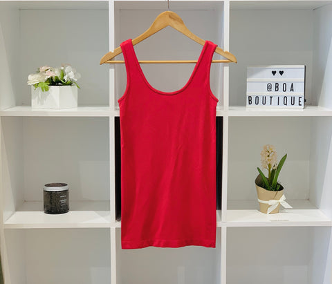 DBL CHILLI PEPPER BAMBOO TANK - LOUNGEWEAR