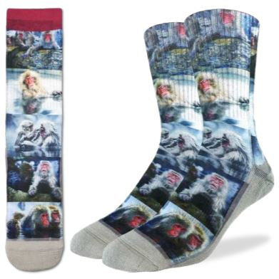 SNOW MONKEYS SOCKS