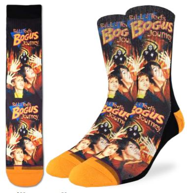 BILL & TED BOGUS JOURNEY SOCKS