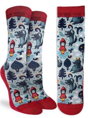 LITTLE RED RIDING HOOD SOCKS
