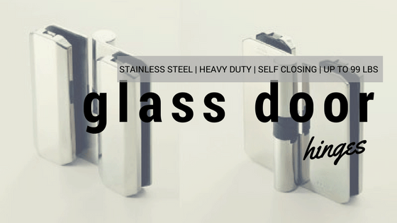 Heavy Duty Shower Door/Glass Door Hinges From Hinge Outlet