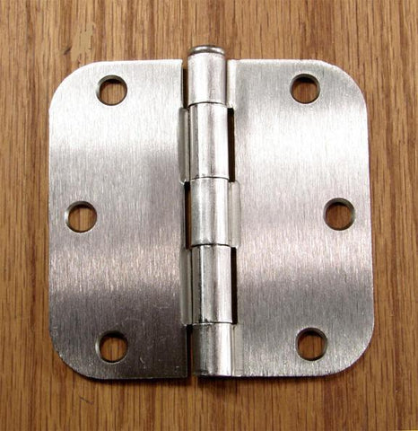 Satin Nickel Hinges