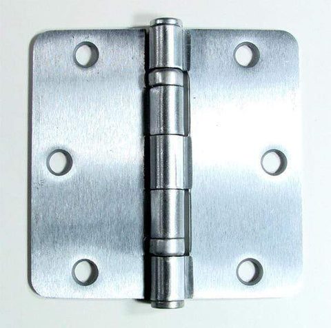 Satin Chrome Hinges