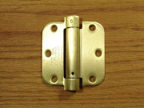 Satin Brass Hinges
