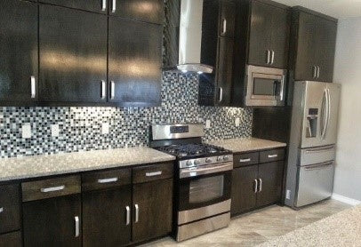 Brushed Nickel Kitchen