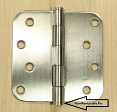 non-removable pin hinge