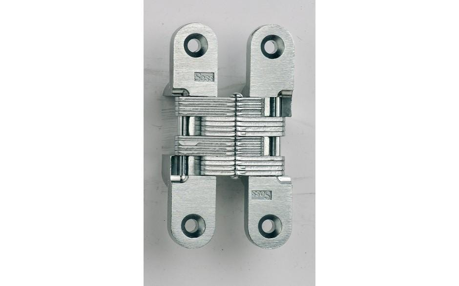 Concealed Closet Hinges - Model 212SS Stainless Steel Invisible - Exterior Stainless Hinges  - 1