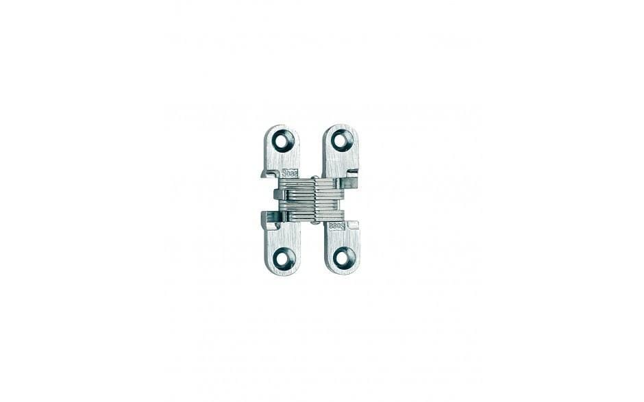"Concealed Cabinet Hinges - Model 101SS Stainless Steel Invisible - 1-11/16"" Length - Sold Individually"