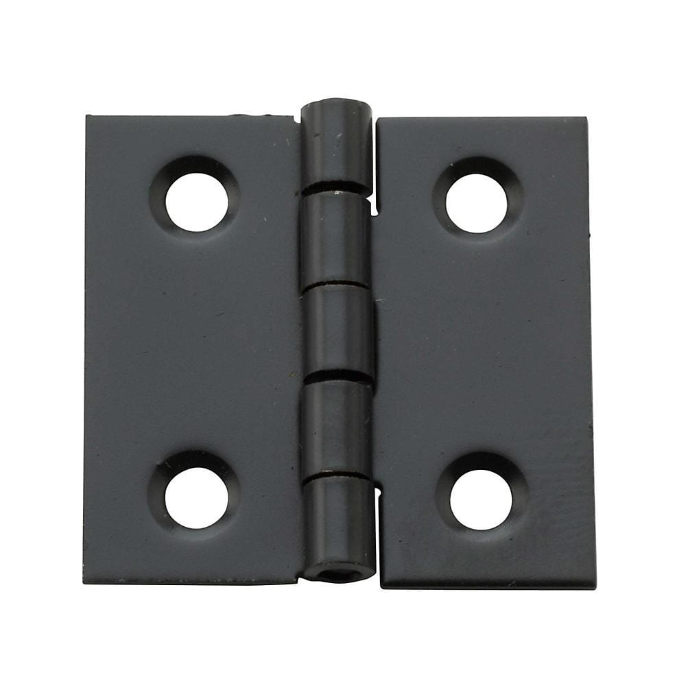 "1"" x 1"" Small Broad Hinges - Multiple Finishes Available - 4 Pack"