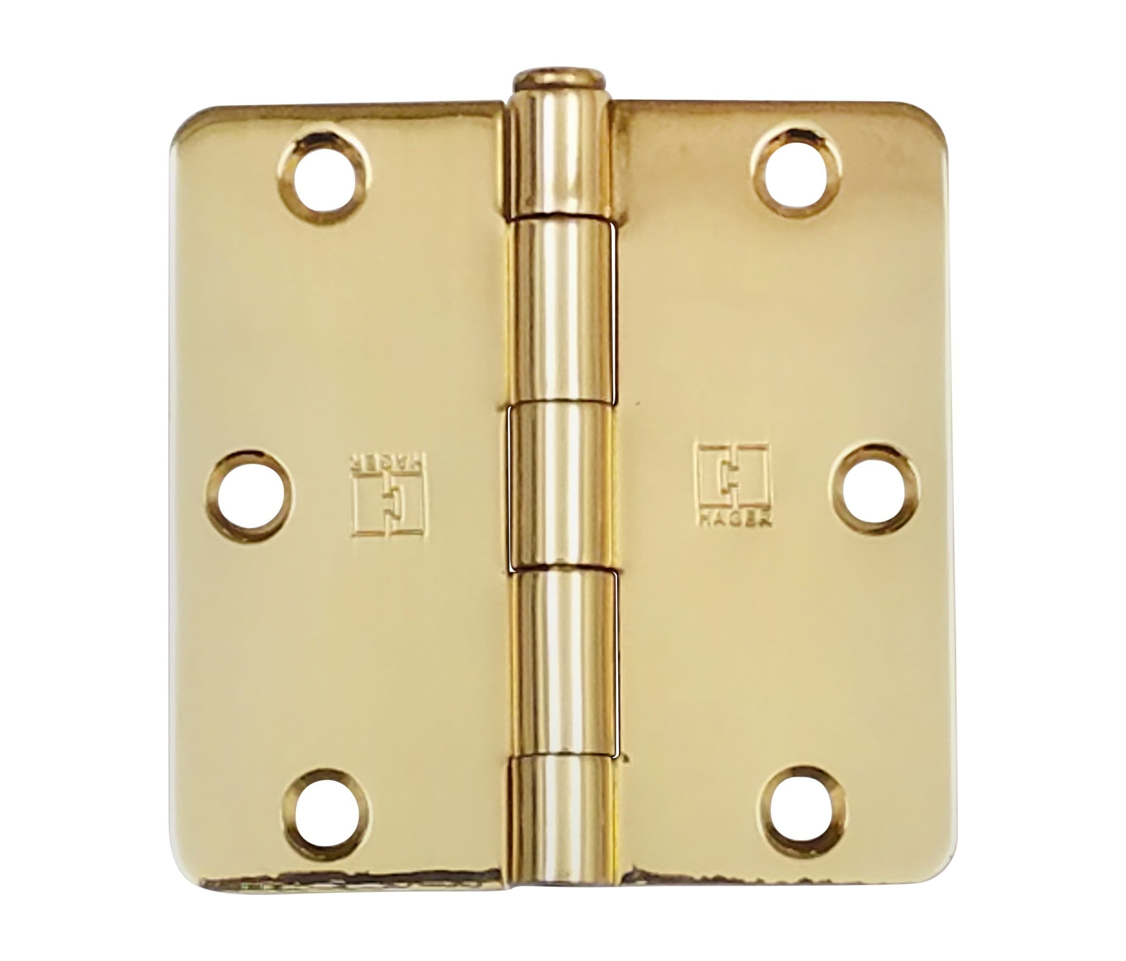 "Hager Door Hinges - 3.5"" Inch with 1/4"" radius - Multiple Finishes - 3 Pack"