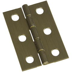 "2"" x 1-3/8"" Small Broad Hinges - Multiple Finishes Available - 2 Pack"