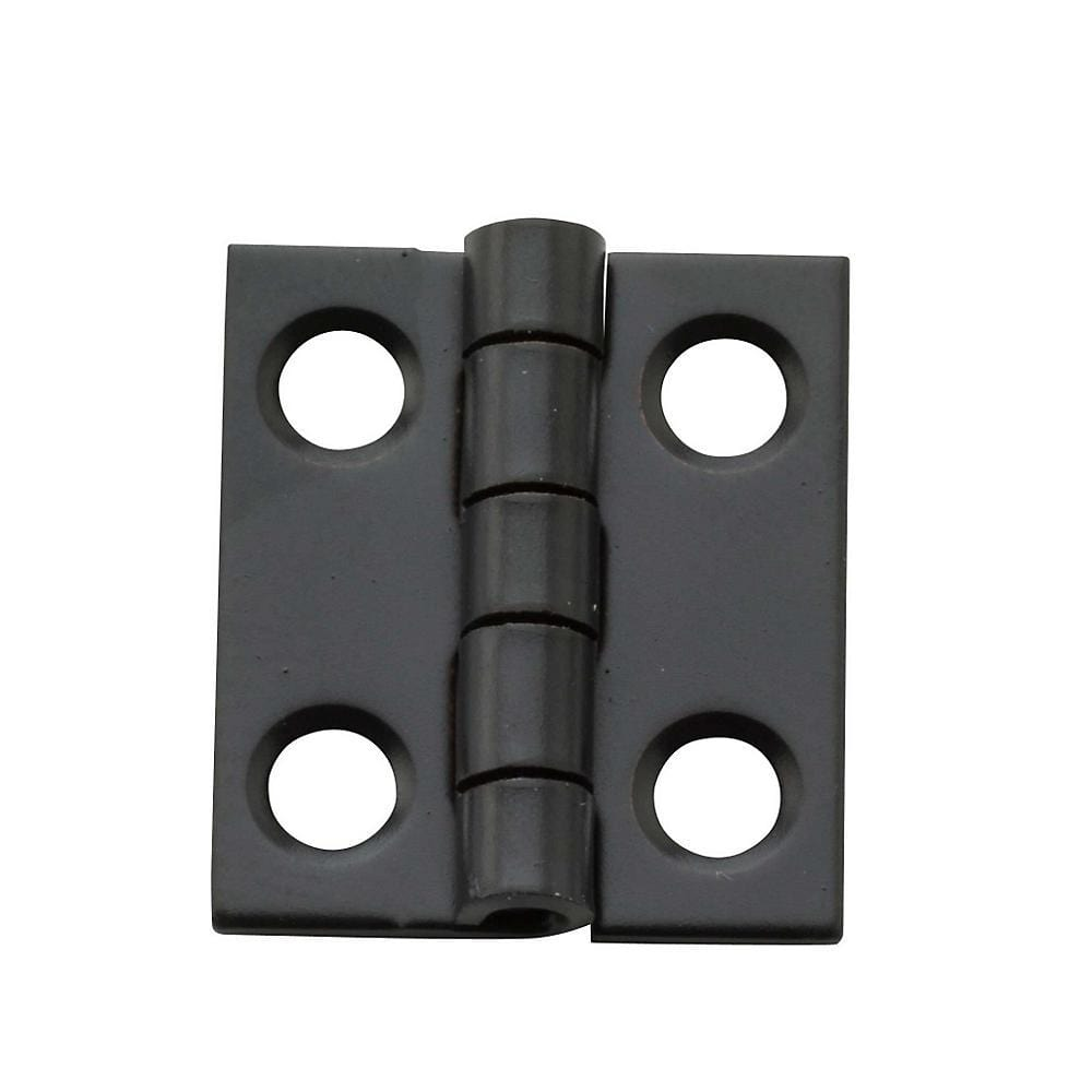 "3/4"" x 5/8"" Small Narrow Hinges - Multiple Finishes Available - 4 Pack"