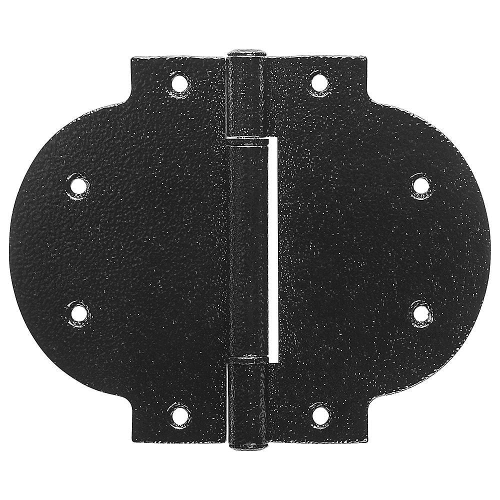 Arched T Hinges - Heavy Duty - Black - Sold Individually