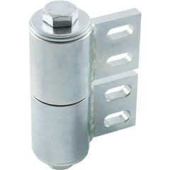 Heavy Duty BadAss Barrel Hinge for Gates - Steel - Up to 180 Degrees - Weld On or Bolt On - Sold Individually