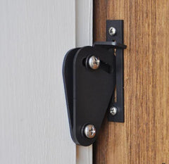 Barn Door Hinges / Hardware Kit - Privacy Lock - Multiple Finishes Available