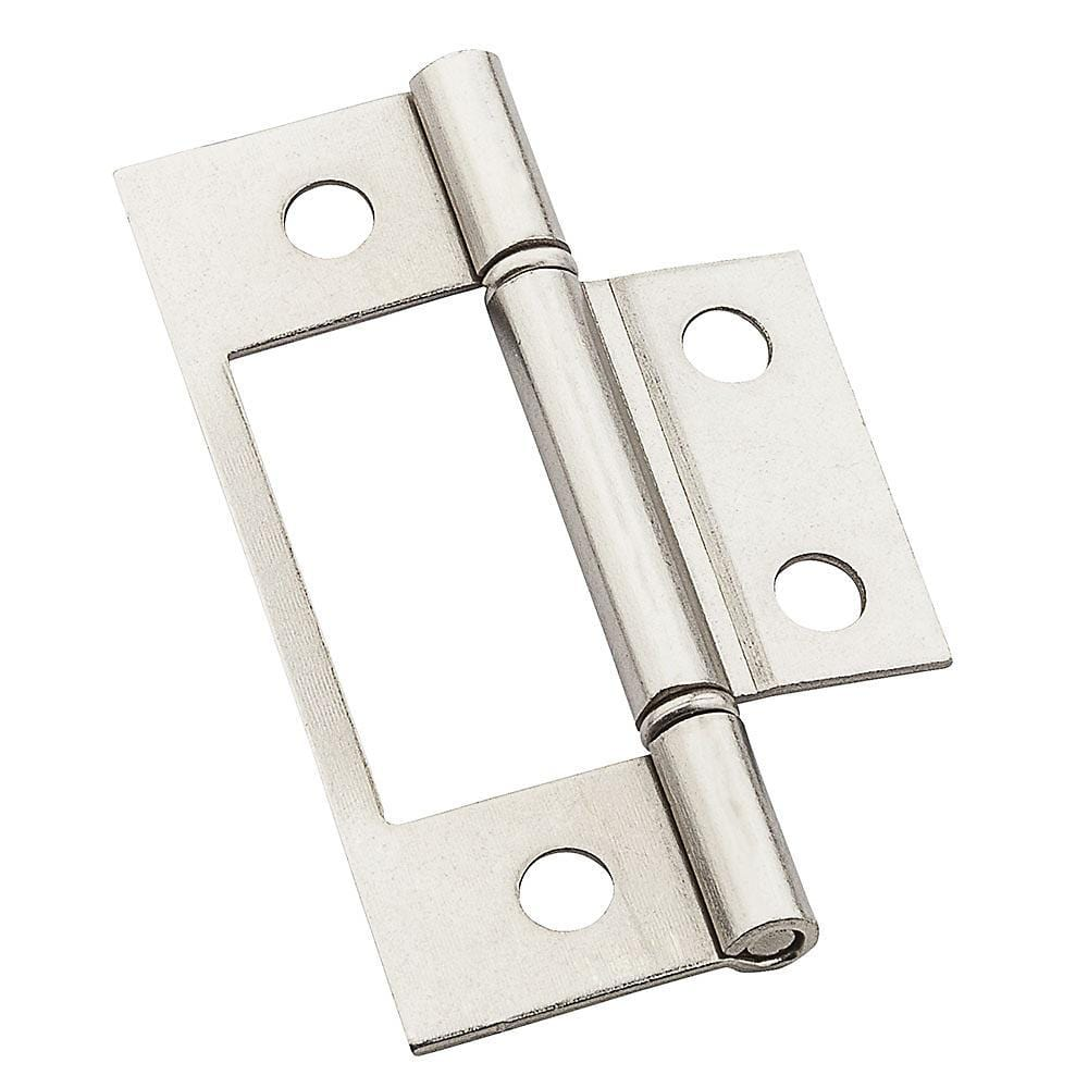 "Bi-Fold Door Hinge - 3"" Inches - Surface Mount - Multiple Finishes Available - 2 Pack"