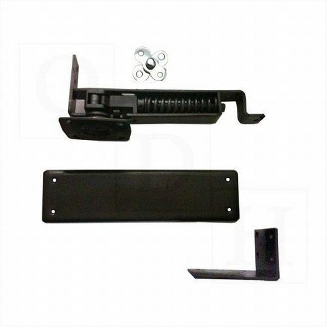 Double Action Spring Pivot Hinge - Horizontal Floor Mounted - Multiple Finishes