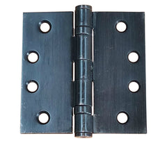 "4 1/2"" x 4 1/2"" with square corners Oil Rubbed Bronze Commercial Ball Bearing Hinge - Sold in Pairs"