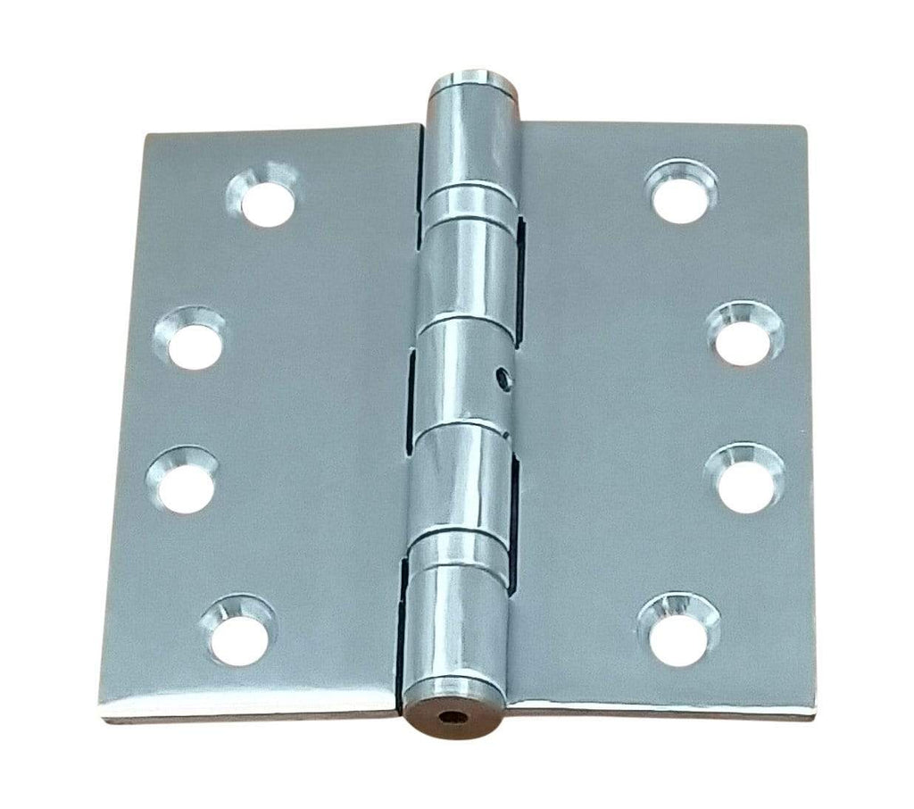 "Commercial Ball Bearing Hinges 4 1/2"" Square - Multiple Finishes Available - 2 Pack"