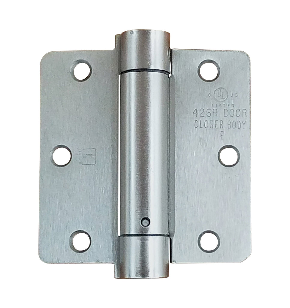 "Hager Spring Hinges - 3.5"" Inch with 1/4"" Inch Radius - Multiple Finishes - Sold Individually"