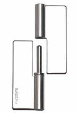 Weld On Lift Off Hinges - For Cabinets - Stainless Steel - Multiple Sizes Available