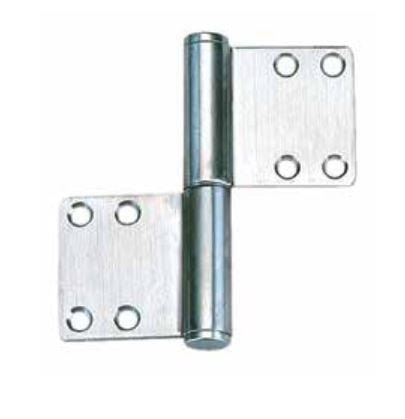 "Lift Off Hinges - For Doors 4-1/64"" x 1-31/32"" - Stainless Steel - Sold Individually"