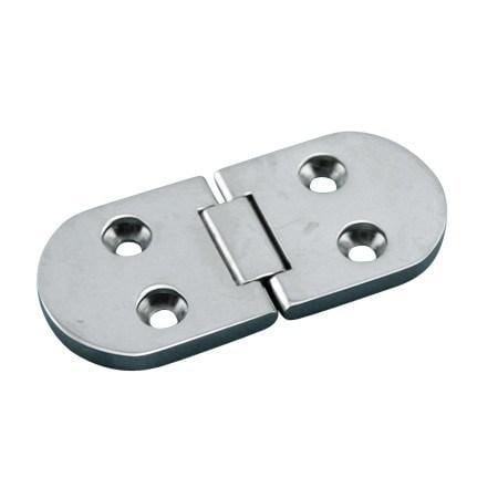 Stainless Steel Marine Heavy Duty Flush Table Hinges - Marine Hinges  - 1