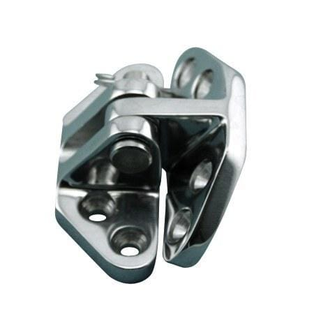 Stainless Steel Marine Heavy Duty Hatch Hinges Angle Base - Marine Hinges  - 1