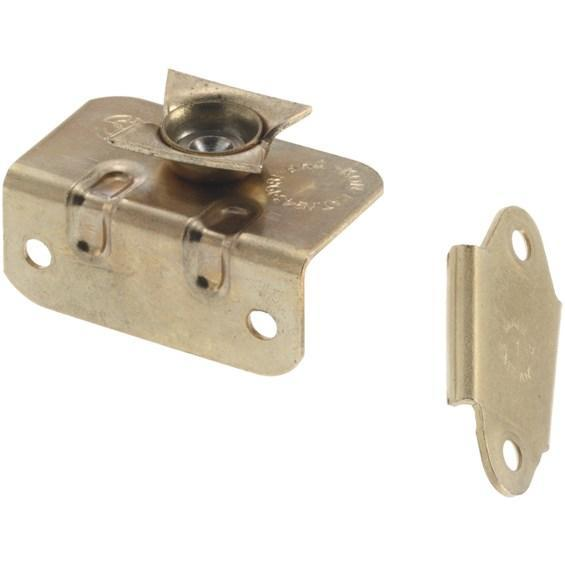 Mirror Brackets - Movement Rear Mount - Hardened Steel - Brass Finish - Sold in Pairs