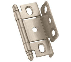 "Full Wrap Inset Cabinet Hinges - 3/4"" Inch Thick Door - Multiple Finishes - Sold Individually"
