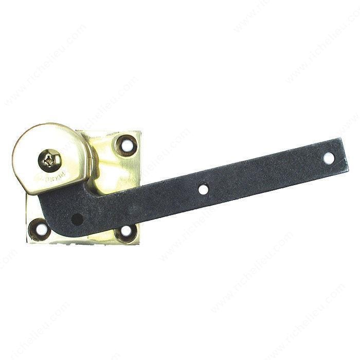 "Offset Hinges - 3/4"" Offset Single-Acting Door Pivot - Floor Mounted - Multiple Finishes Available - Sold Individually"