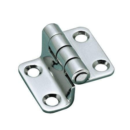 Stainless Steel Marine Door Hinges - Offset