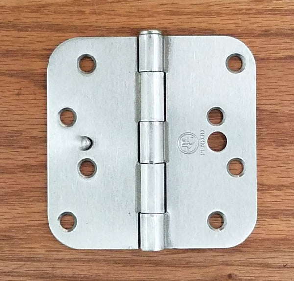 Satin Nickel Hinges With Security Tab 4 Quot Inch With 5 8