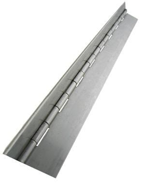 "Piano Hinges - Stainless Steel - Continuous - 1-1/2"" x 96"" - 3 Pack"