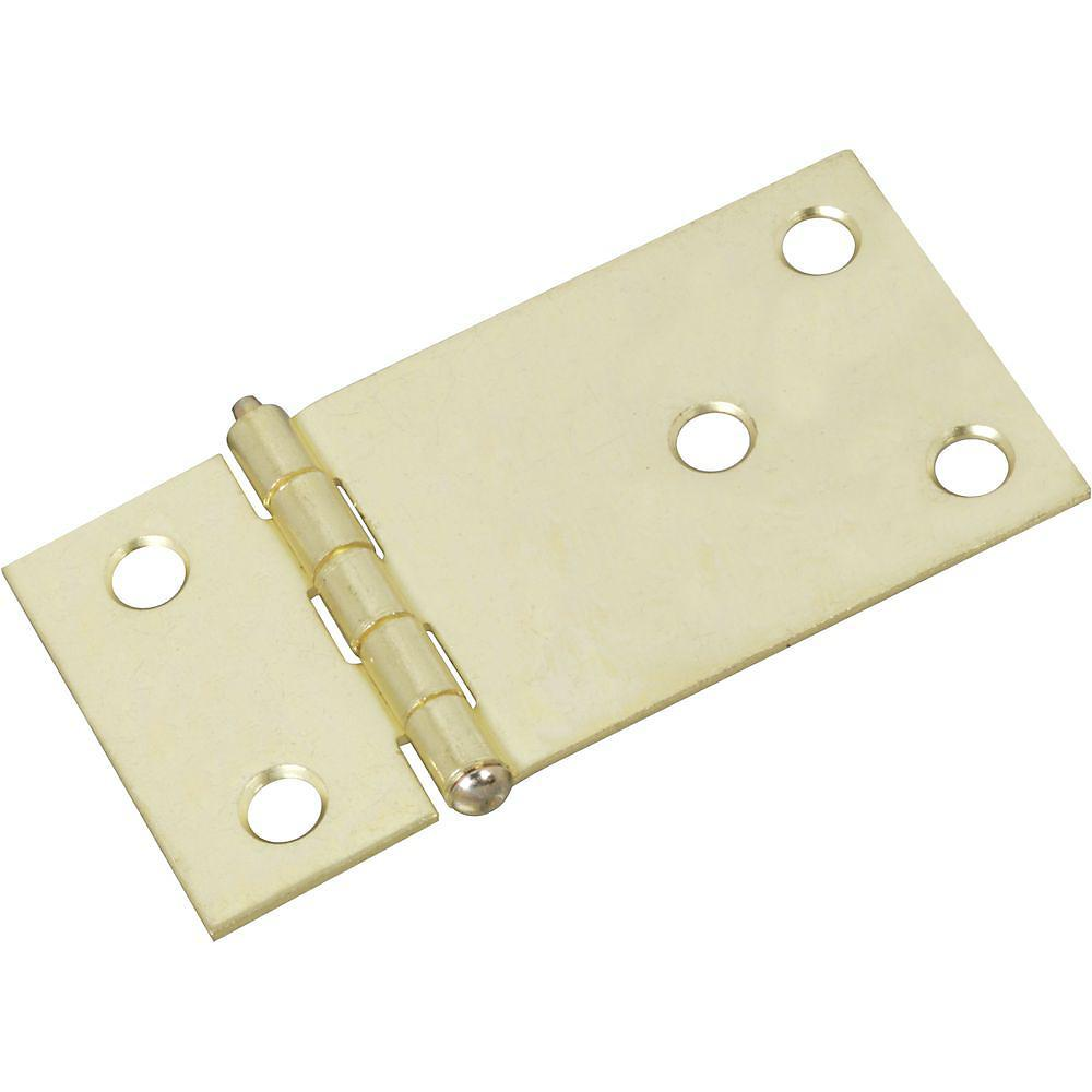 "Shutter Hinges - Brass - 2.92"" Inches x 1.50"" Inches - 2 Pack"