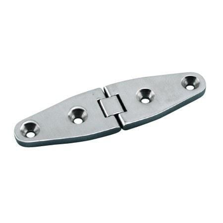 Stainless Steel Marine Heavy Duty Wide Strap Hinges 4