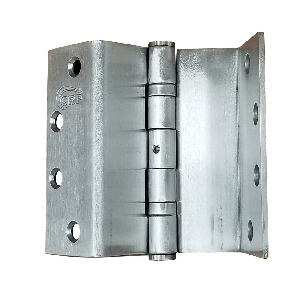 "Swing Clear Standard Weight Ball Bearing Door Hinges - 4.5"" - Full Mortise - Stainless Steel - Rust Resistant - Sold Individually"