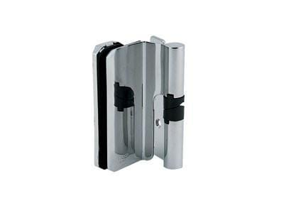 Glass Door Hinges - Self Closing - Stainless Steel - SUGATSUNE - 2 Pack