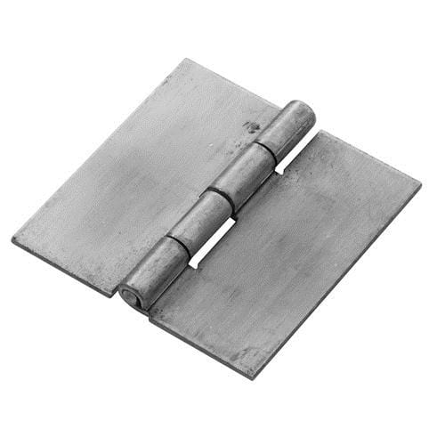 Weld On Aluminum Hinges - 4 inches Square - 2 Pack