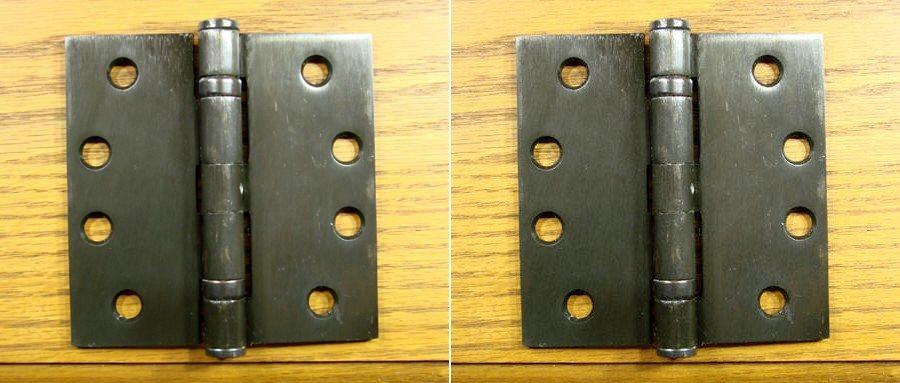 Bulk Hinges 4 Quot Inch Square Corner Commercial Ball