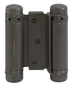 "Oil Rubbed Bronze - Bommer Double Action Hinges Multiple Sizes (3"" - 8"") - Single Hinge"