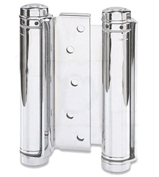 "Prime Coated - Bommer Double Acting Spring Hinges Multiple Sizes (3"" - 8"") - Single Hinge"