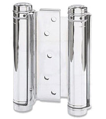 "Prime Coated - Bommer Double Acting Spring Hinges Multiple Sizes (3"" - 8"") - Single Hinge - Double Action Spring Hinges 8 inch - 1"