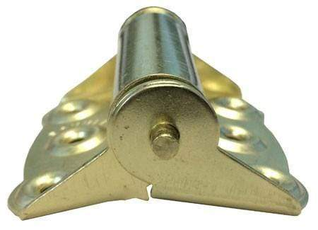 """Screen Door Spring Hinges 3/"""" x 3/"""" Multiple Finishes Available Full Surface"""