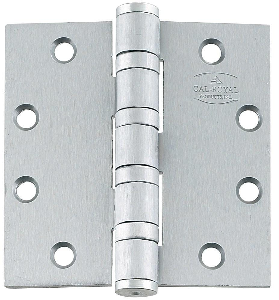 Heavy Weight 4 Ball Bearing  Stainless Steel Hinges Full Mortise - Commercial - Multiple Sizes - Sold in Sets of 3