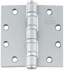 Heavy Weight 4 Ball Bearing  Stainless Steel Hinges Full Mortise - Commercial - Multiple Sizes - Sold in Sets of 3 - Stainless Steel Hinges, Commercial Ball Bearing 4.5 inch x 4 inch - 1