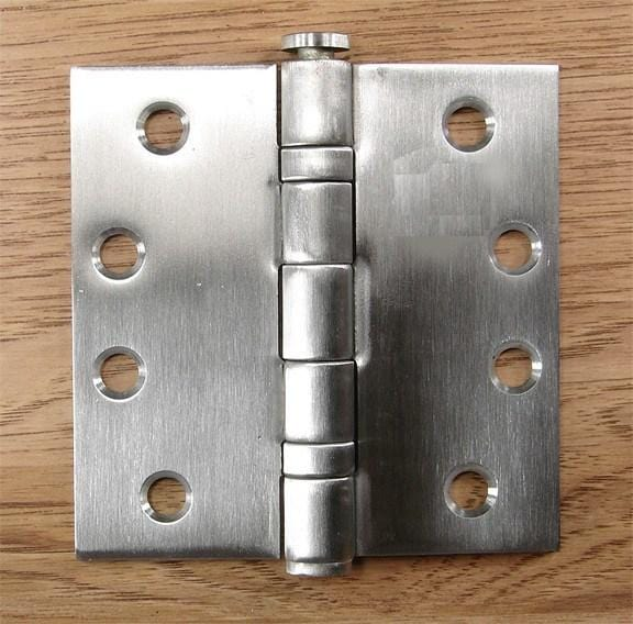 Stainless Steel Ball Bearing - Full Mortise Standard Weight - Multiple Sizes - Sold in Sets of 3