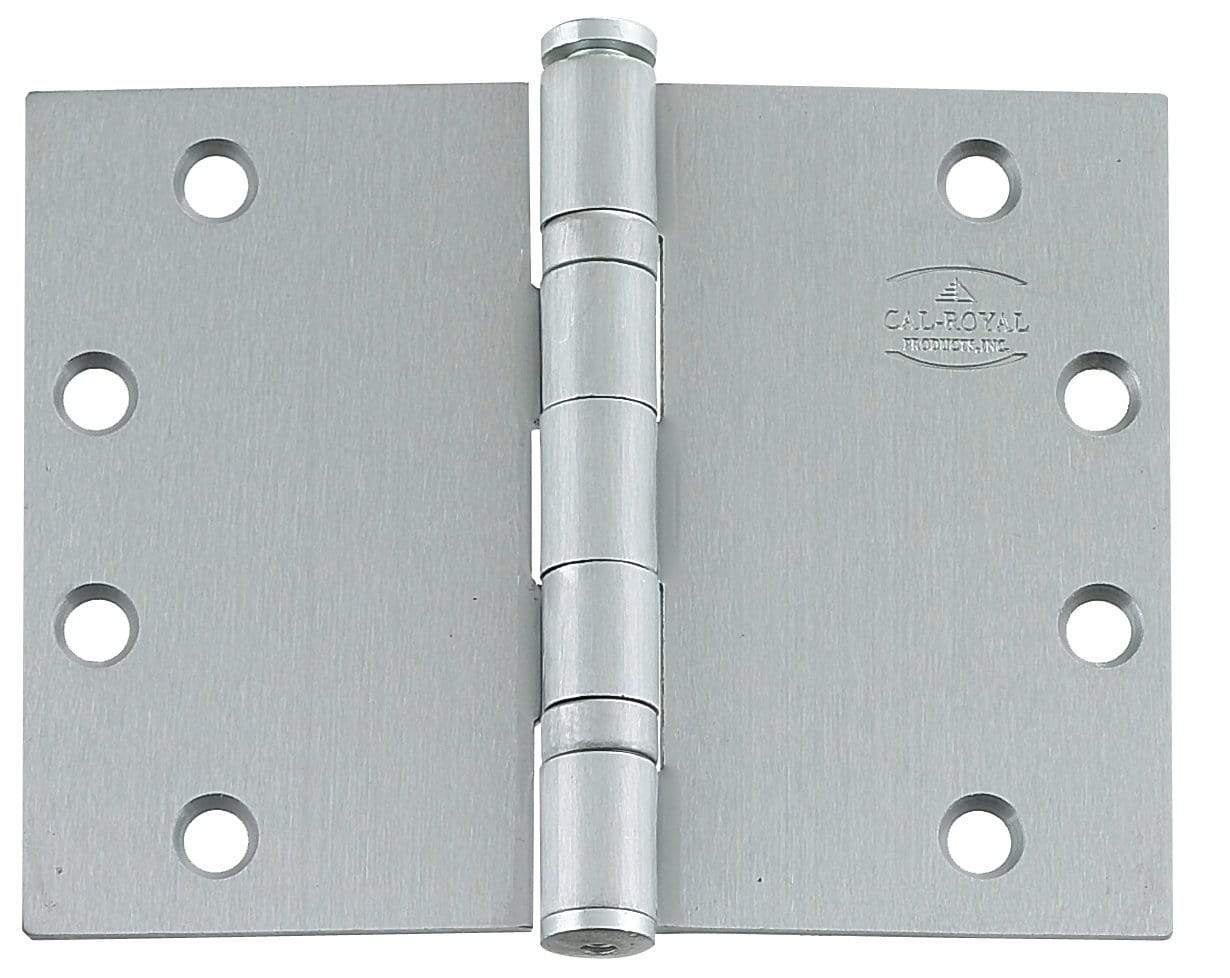 "Wide Throw Hinges - Steel Base -4.5"" x 6"" - Full Mortise - Standard Weight - Ball Bearing - Multiple Finishes Available - Sold in Sets of 3 - Wide Throw Hinges"